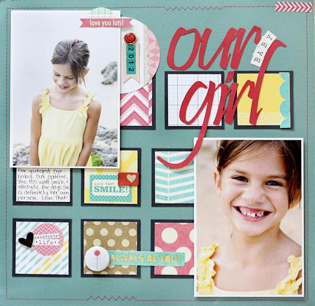 Our Baby Girl *Elle's Studio*