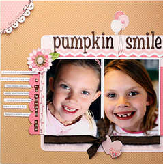 Pumpkin Smile *Pebbles, Inc.*