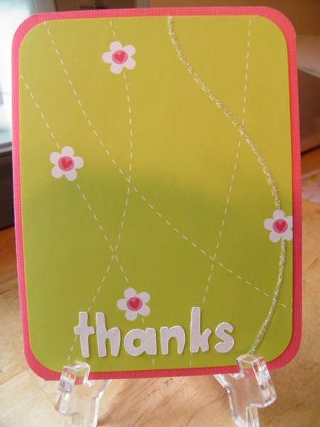 thanks-simple card