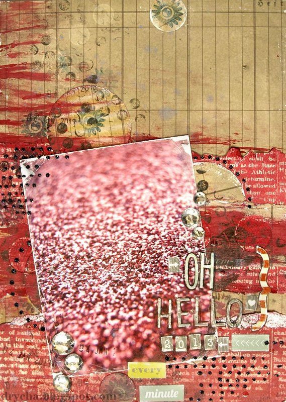 "VIDEO!!! Hello 2013! with Scraps of Darkness ""Firecracker"" Kit"