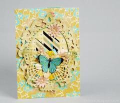 cheerful card for Grandma