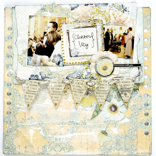 "Izabela's baptism *Scraps of Darkness* May Kit ""Summer breeze"""