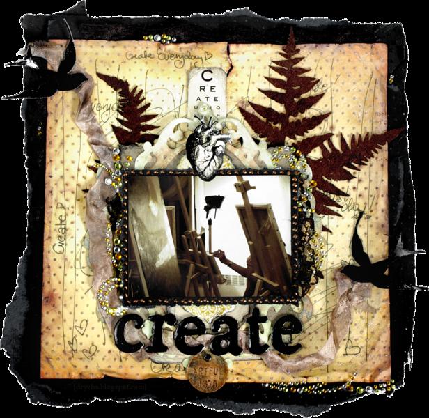 Create *Scraps of Darkness*