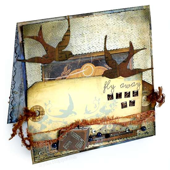 Fly away with me *Scraps of Darkness June Kit White Rabbit*
