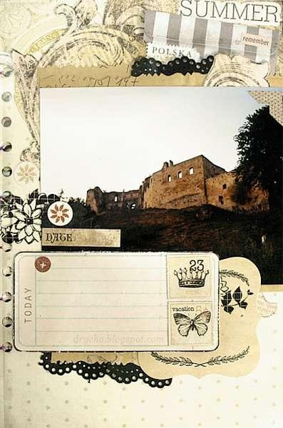 """Ruins of castle *Scraps of Darkness* July Kit """"True Romance"""""""