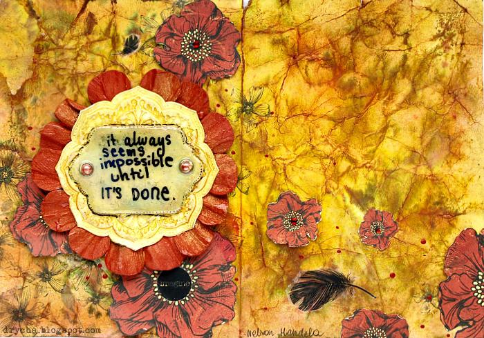 """it's always seems impossible until it's done"" *Scraps of Darkness* Nov Kit ""Karma"""