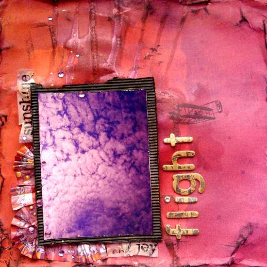"flight *Scraps of darkness* Nov Kit ""Purple Haze"""