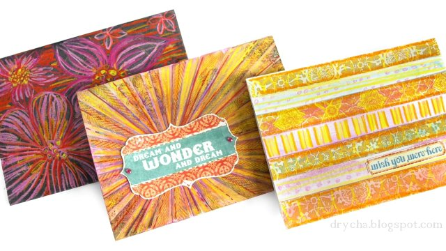 "Video tutorial with WAX CRAYONS from Scraps of Darkness Kit ""Gypsy Summer"""