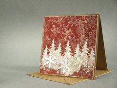christmas card * 3rd Eye stamps *