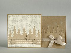eco christmas cards * 3rd Eye stamps *