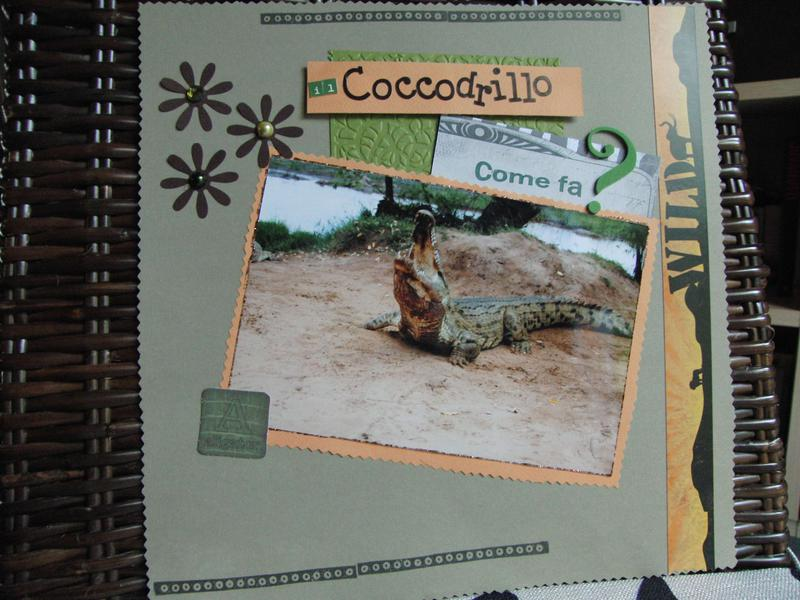 Kenya album: crocodile