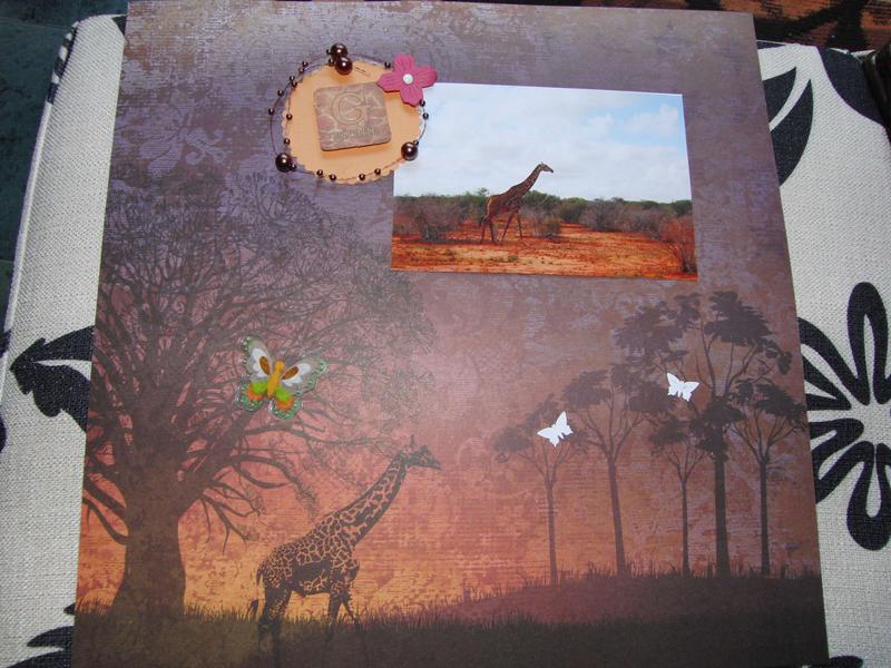 Kenya album: giraffe