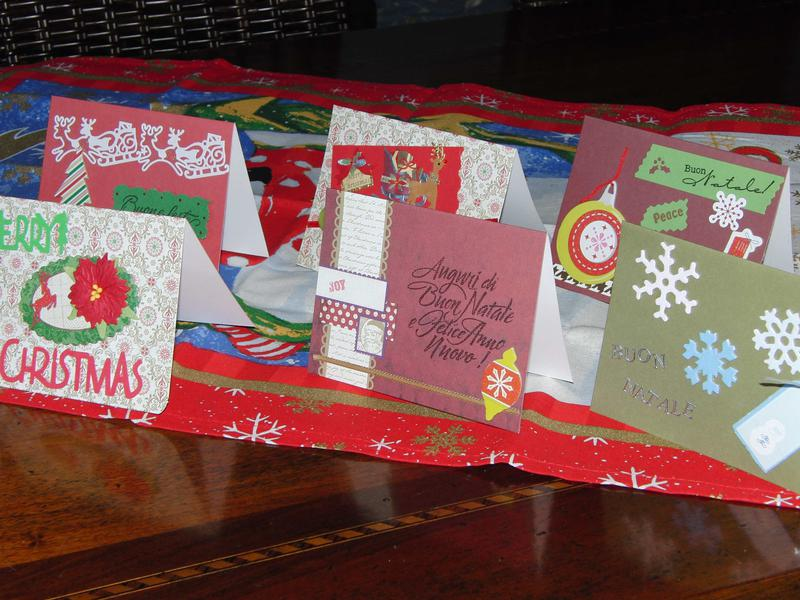 some Christmas cards