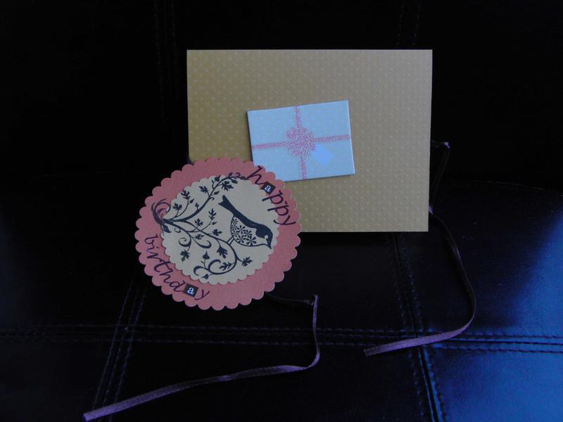 """Birthday card """"bird""""2"""