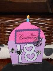 18th birthday cupcake card