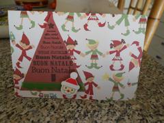 Christmas card: elves