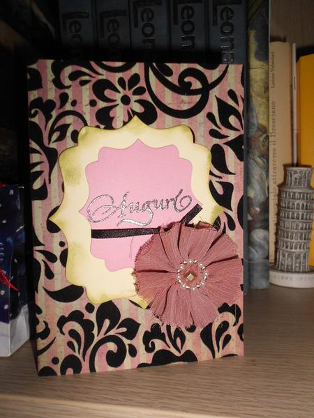 "Birthday card ""Lady"""