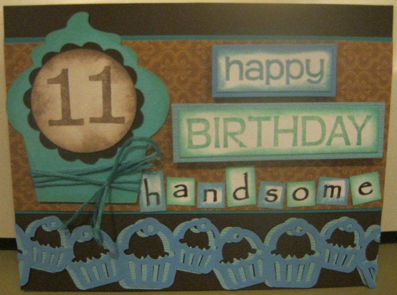Boy 11th Birthday card