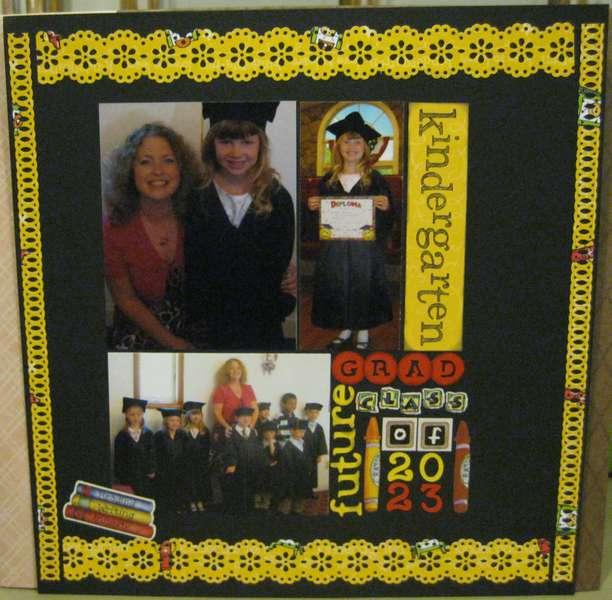 Kindergarten Grad!!