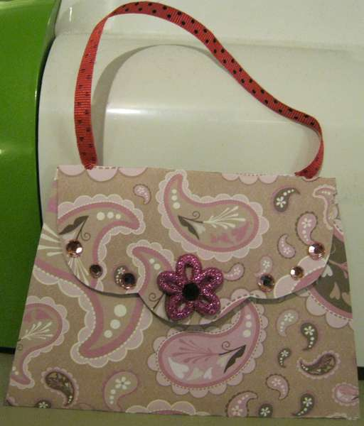 Paisley Purse card