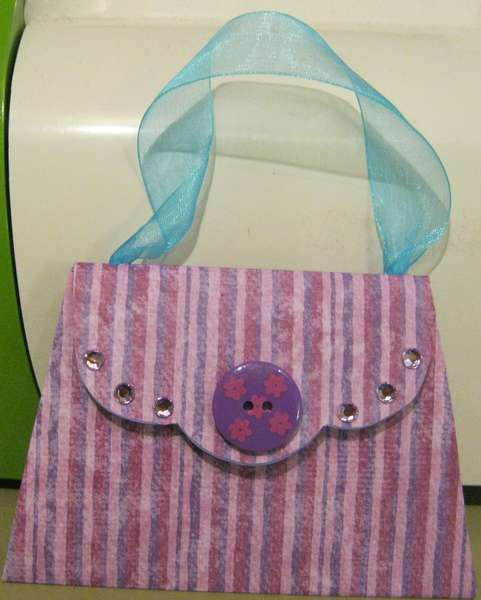 Purple Purse card
