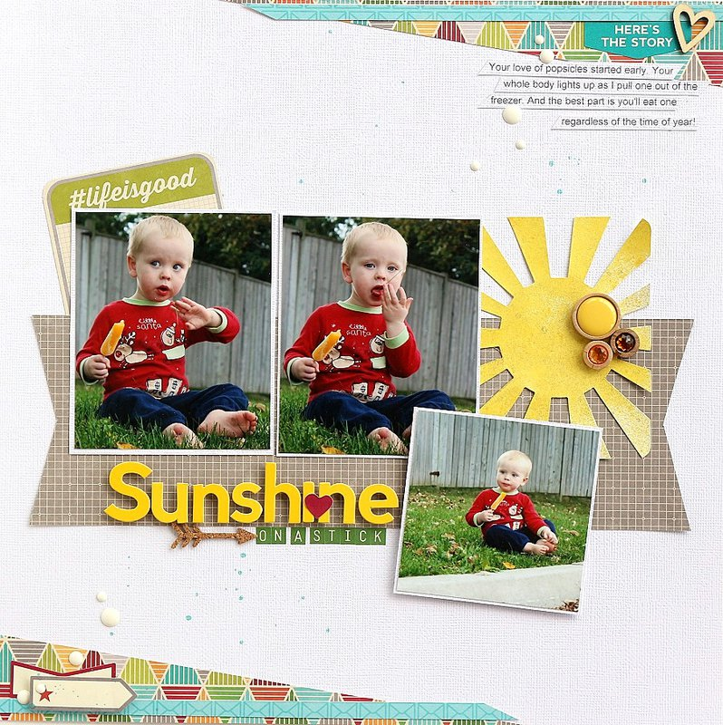 Sunshine on a stick *Jillibean Soup*
