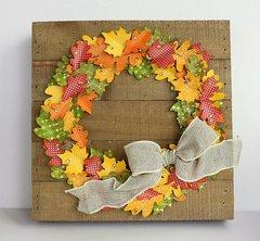 Fall wreath *Jillibean Soup*