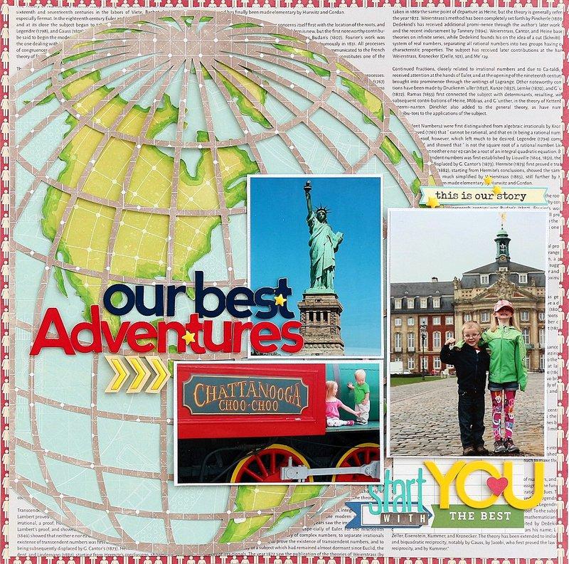 Our best Adventures *Jillibean Soup*