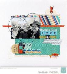 Love Gran & Pops *Basic Grey*