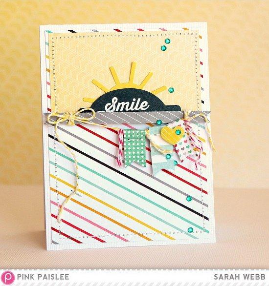 Smile *Pink Paislee*