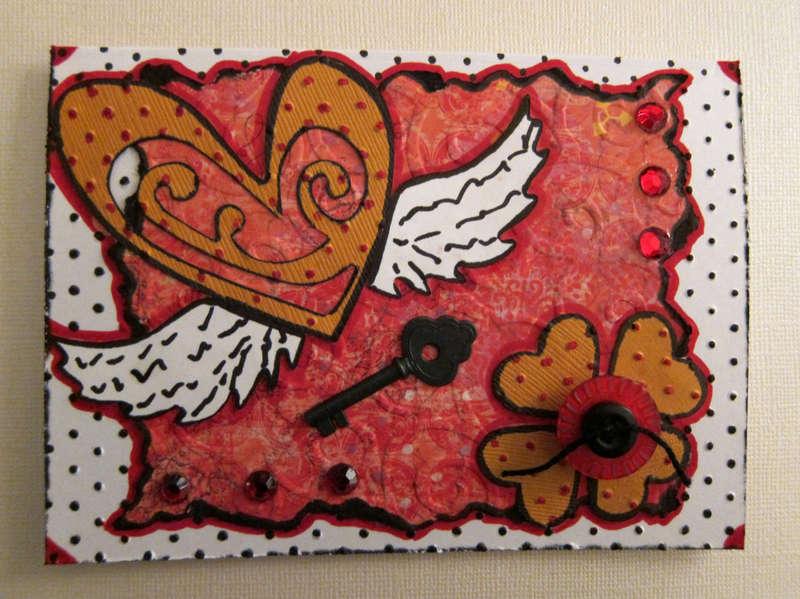 Shabby Chic Valentine Card