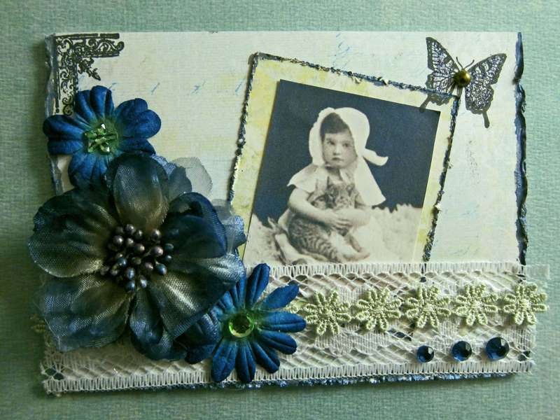 Vintage Inspired Any Occasion Card