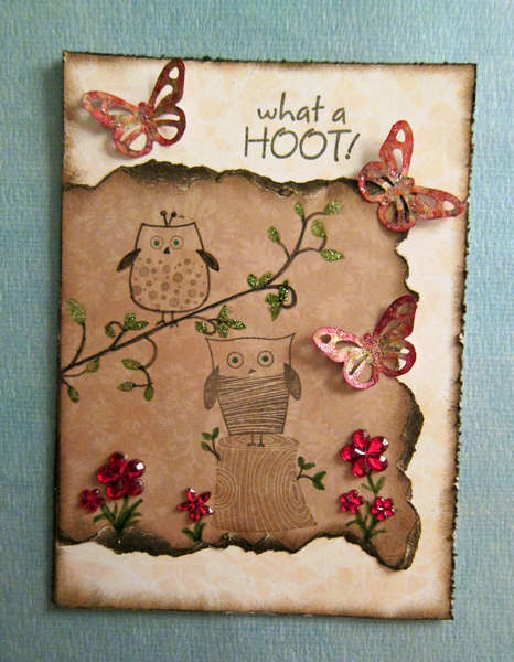 """What a Hoot"" Card"
