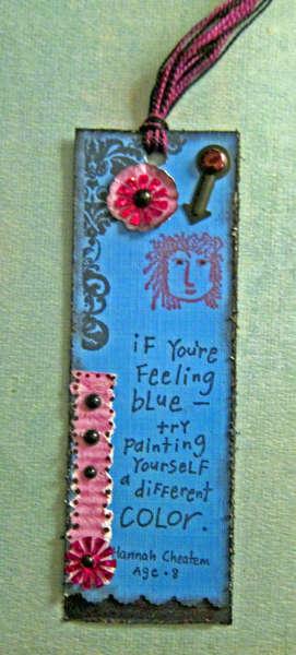 Inspirational Bookmark
