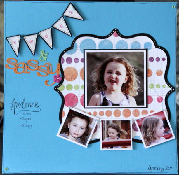 Lynn's midyear layout challenge for P365 group