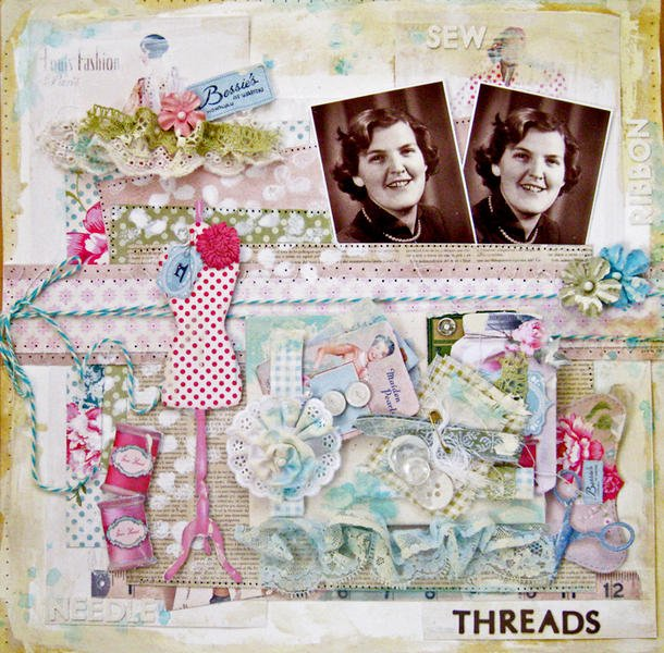 The Color Rooms # 123 Threads