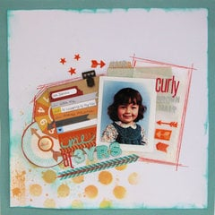 Curly Brown Hair - MAY Cocoa Daisy Kit