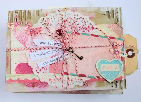 Love Letters Mini Book - Feb Cocoa Daisy Prject Kit
