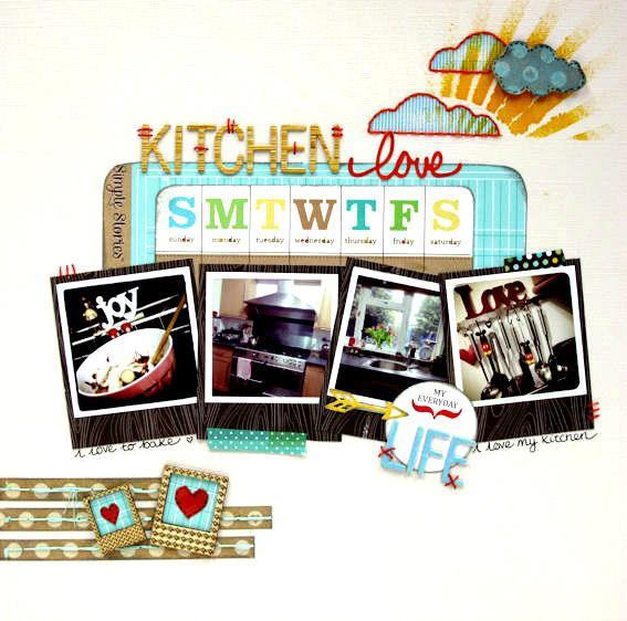 Kitchen Love - Cocoa Daisy April Kit