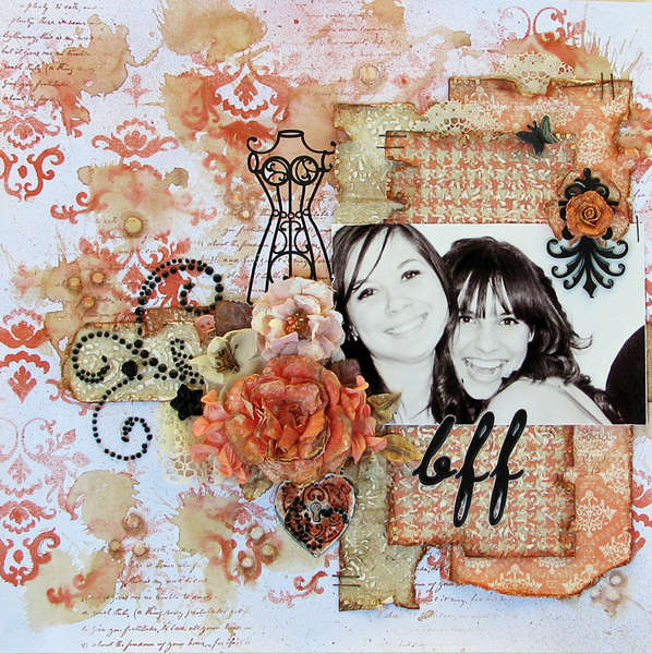 "'BFF"" (Designed with C'est Magnifique's September Kit)"