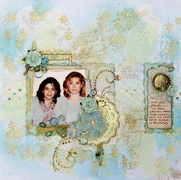 Good Friends (Blue Fern Studios Chipboard)