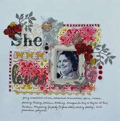 The Color Room Palette #77 - She Loves.....