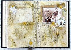 Altered Book -2nd vintage entry