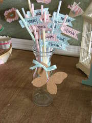 Birthday Party Straws