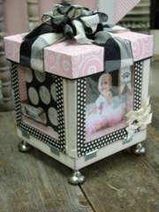 Baby Girl Photo Box