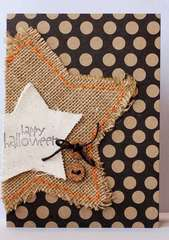 Happy Halloween Card by Kimber McGray