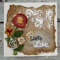 Live, Laugh, Love by Lynne Forsythe