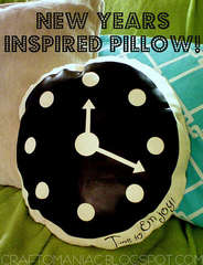 New Year's Pillow