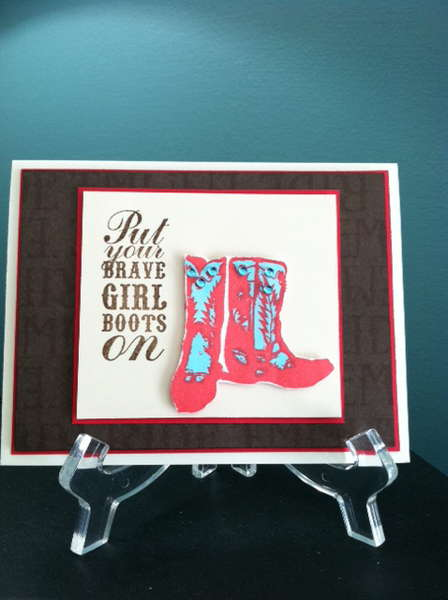 Put your Brave Girl Boots on!