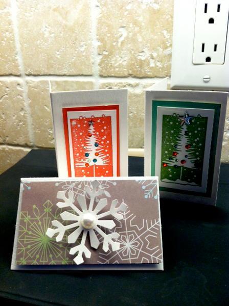 SMALL Christmas cards